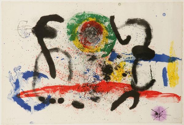 Exposição: A Magia de Miró, desenhos e gravuras, foto 1
