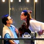 Tania Khalill e André Garolli vivem no palco várias situações amorosas