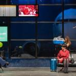 Na comédia Loucas Por Eles, chuva prende cinco mulheres  num aeroporto