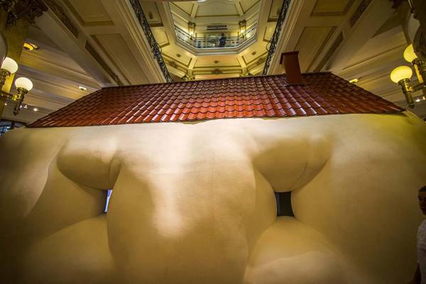 Mostra: Erwin Wurm-O Corpo é a Casa, foto 1