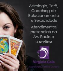 Virgina Gaia -astrologia, tarô