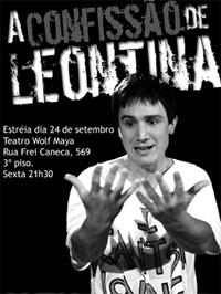 Peça: A Confissão de Leontina, foto 3