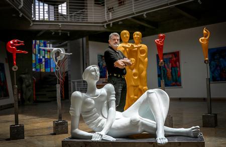 Exposição: Adelio Sarro, foto 2