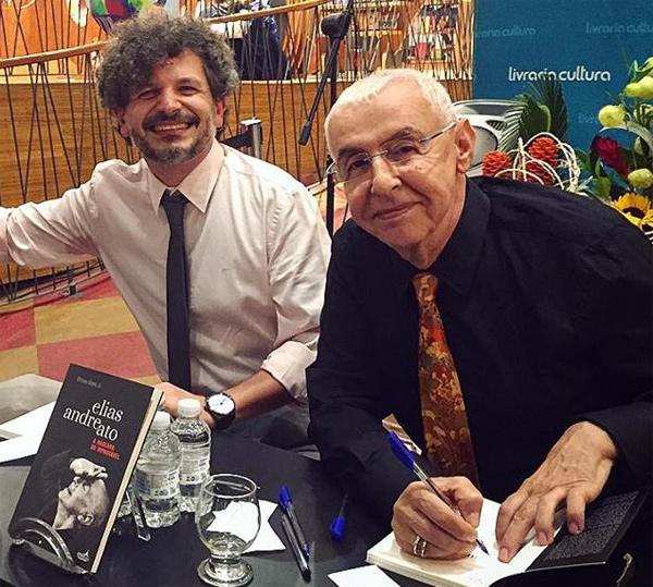 Livro: Elias Andreato- a máscara do improvável, foto 1
